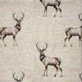 Glencoe oilcloth tablecloth