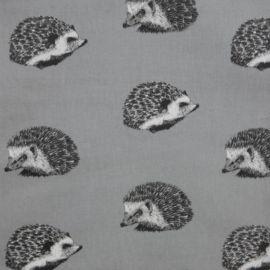 Hedgehog oilcloth tablecloth