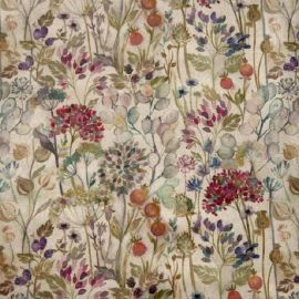 Hedgerow Oilcloth Tablecloth SALE ITEM ROUND 200 CM DIAMETER