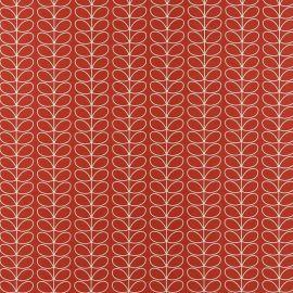 Orla Kiely Linear Stem Tomato oilcloth tablecloth