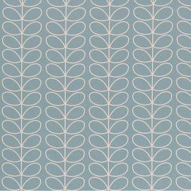 Orla Kiely Linear Stem Ziggurat oilcloth tablecloth