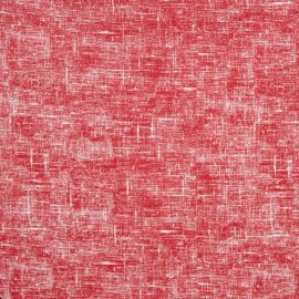 Linum Red oilcloth tablecloth