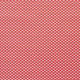 Minnows Red PVC tablecloth