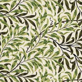 Morris Gallery Willow Bough teflon coated tablecloth