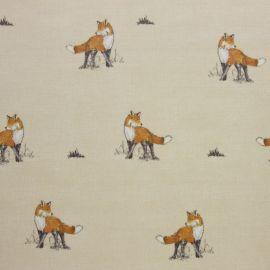 Mr Fox oilcloth tablecloth