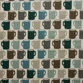 Mug of Tea oilcloth tablecloth