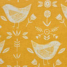 Narvik Ochre oilcloth tablecloth