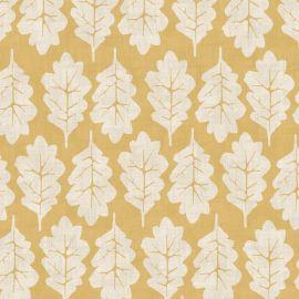 Oak Leaf Sand oilcloth tablecloth
