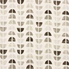 Odense Grey oilcloth tablecloth