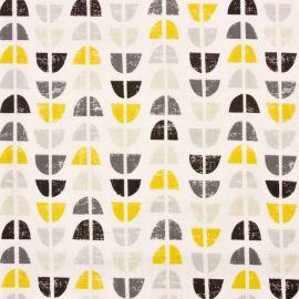 Odense Ochre oilcloth tablecloth