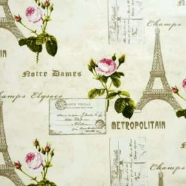 Parisienne oilcloth tablecloth