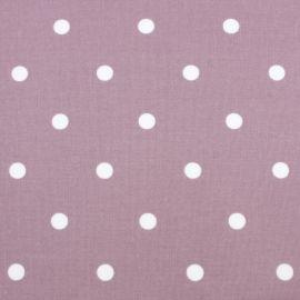 Polka Dot Mauve oilcloth tablecloth