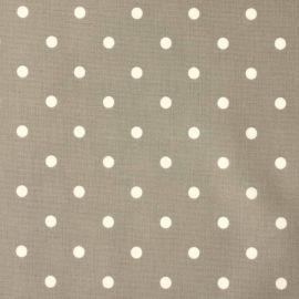 Polka Dot Chrome oilcloth tablecloth