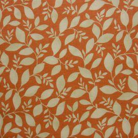 Rene Burnt Orange oilcloth tablecloth