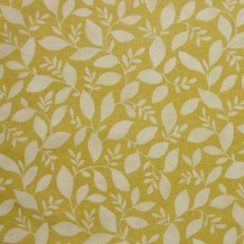 Rene Ochre oilcloth tablecloth