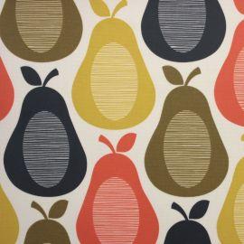 Orla Kiely Scribble Pear oilcloth tablecloth