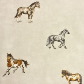 Stables oilcloth tablecloth