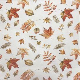 Sycamore Autumn oilcloth tablecloth