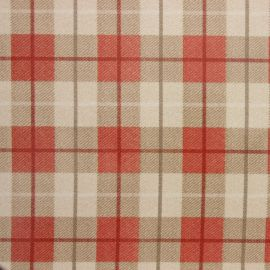 Tartan Red oilcloth tablecloth