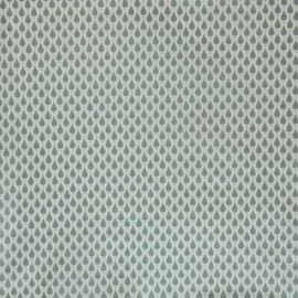 Teardrops Blue-grey Oilcloth Tablecloth