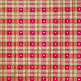 True Love Red  PVC tablecloth