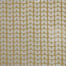 Tulip Ochre oilcloth tablecloth