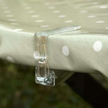 Clear Tablecloth Clip