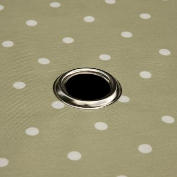 Parasol hole with a silver ring