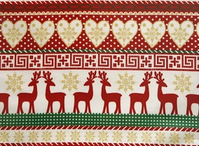 Christmas tablecloth designs